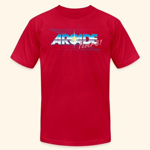 arcade fever 81 motiv2 - Unisex Jersey T-Shirt by Bella + Canvas