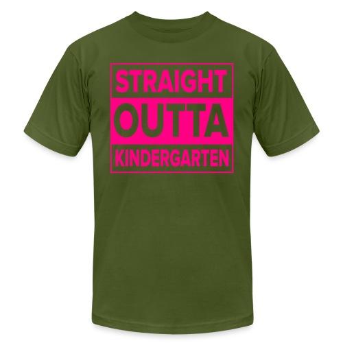 Straight Outta Kindergarten - Unisex Jersey T-Shirt by Bella + Canvas