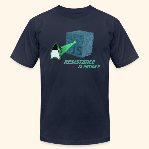 Resistance is futile? - Men's  Jersey T-Shirt