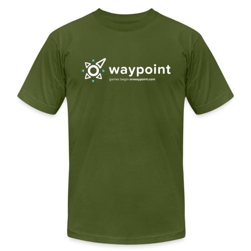 Waypoint Logo (Light Version) - Unisex Jersey T-Shirt by Bella + Canvas