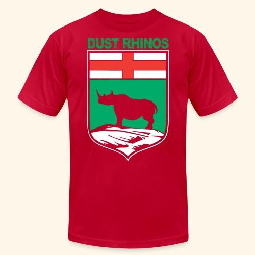 Manitoba Rhino - Unisex Jersey T-Shirt by Bella + Canvas
