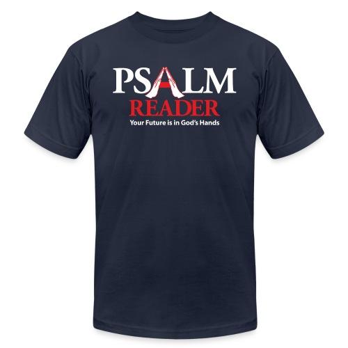 Psalm Reader - Unisex Jersey T-Shirt by Bella + Canvas