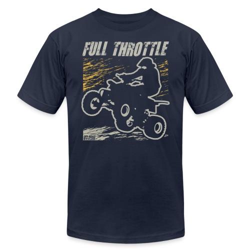 ATV Quad Full Throttle - Unisex Jersey T-Shirt by Bella + Canvas