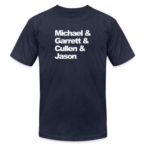 michael garrett cullen jason - Men's Jersey T-Shirt