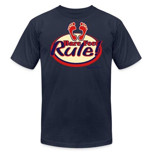 Bare Feet Rule! - Unisex Jersey T-Shirt by Bella + Canvas