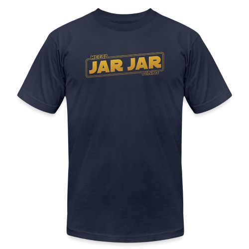 jarjar trim - Unisex Jersey T-Shirt by Bella + Canvas