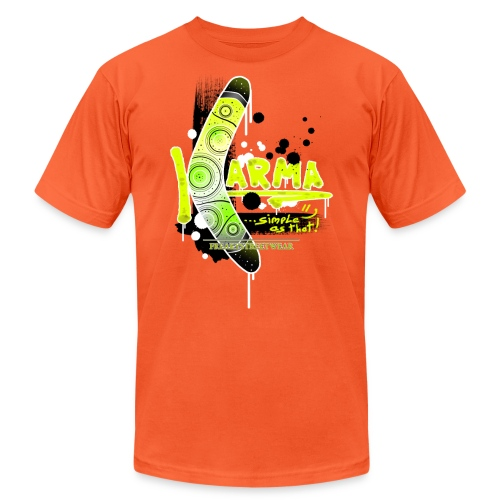 KARMA - Unisex Jersey T-Shirt by Bella + Canvas
