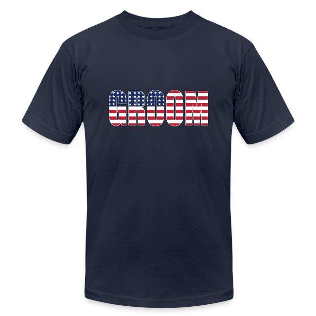 Groom US Flag