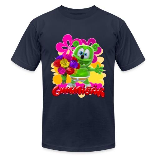 Gummibär Flowers - Unisex Jersey T-Shirt by Bella + Canvas