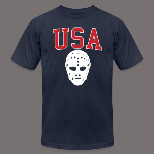 USA Hockey - Unisex Jersey T-Shirt by Bella + Canvas