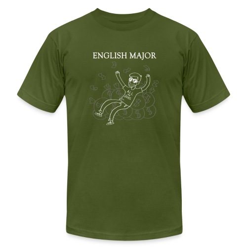 English Major - Unisex Jersey T-Shirt by Bella + Canvas