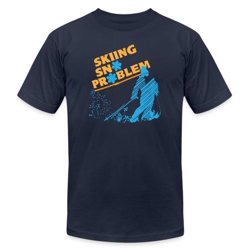 Skiing Sno Problem - Men's Jersey T-Shirt
