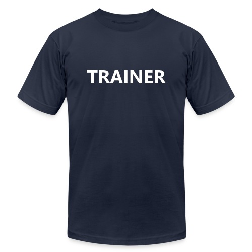 Trainer - Unisex Jersey T-Shirt by Bella + Canvas