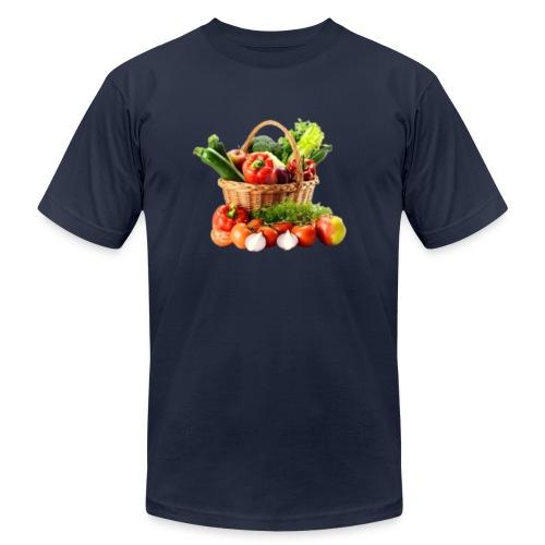 Vegetable transparent - Unisex Jersey T-Shirt by Bella + Canvas