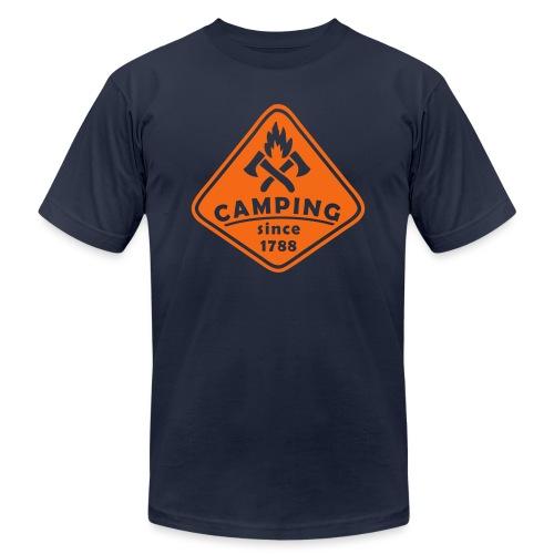 Campfire - Unisex Jersey T-Shirt by Bella + Canvas