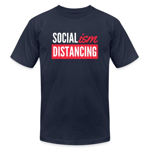 SOCIALism DISTANCING - Unisex Jersey T-Shirt by Bella + Canvas