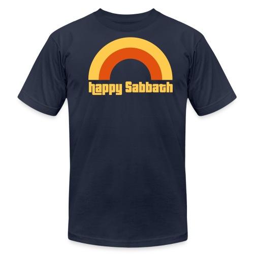 Happy Sabbath 2 Color - Unisex Jersey T-Shirt by Bella + Canvas