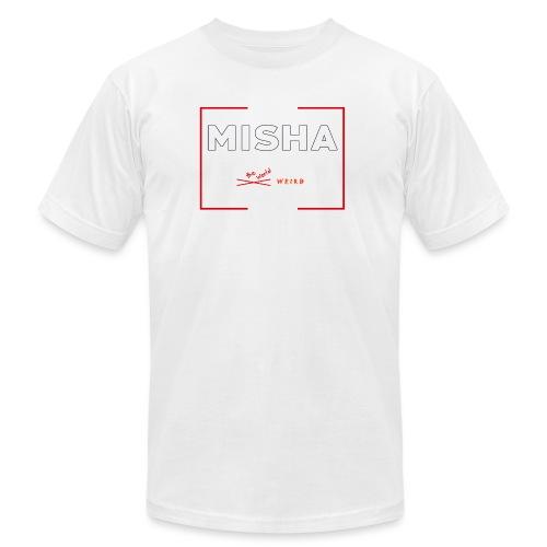 Make The World Weird! - Unisex Jersey T-Shirt by Bella + Canvas