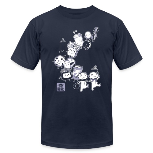 Navy BFF Parade - Unisex Jersey T-Shirt by Bella + Canvas
