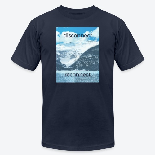 Disconnect Reconnect - Men's  Jersey T-Shirt