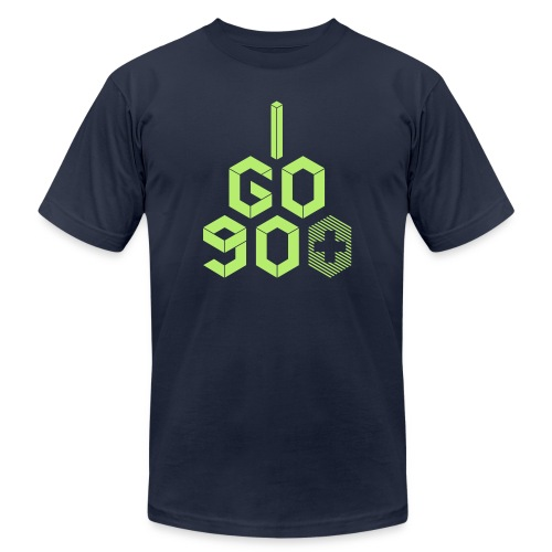 I Go 90+ - Unisex Jersey T-Shirt by Bella + Canvas