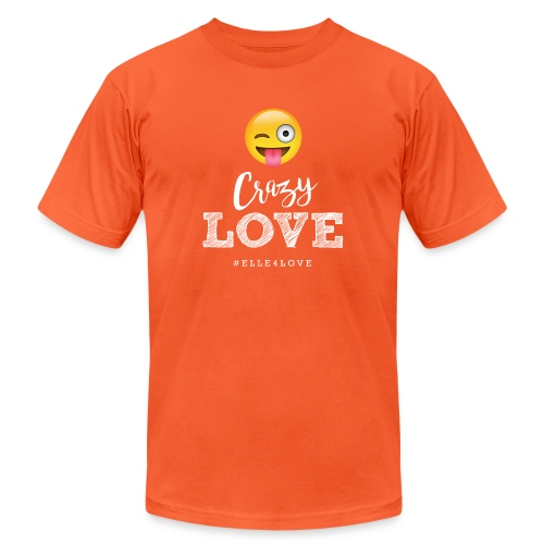 Crazy Love - Unisex Jersey T-Shirt by Bella + Canvas