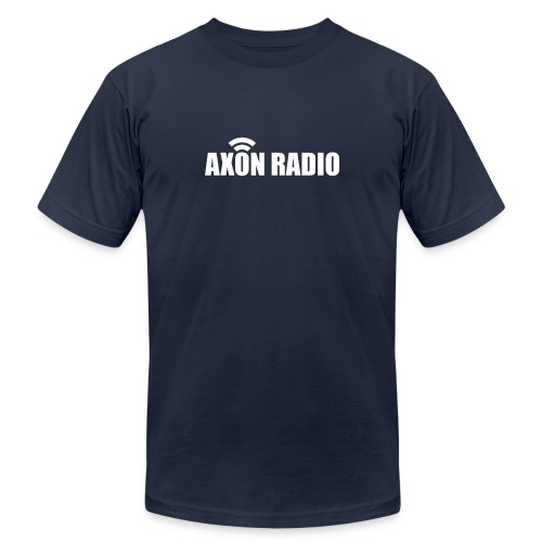 Axon Radio | White night apparel. - Unisex Jersey T-Shirt by Bella + Canvas