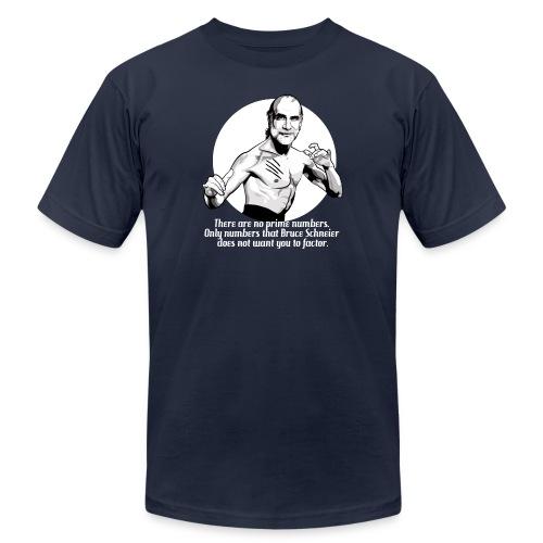 schneier22 martial white - Unisex Jersey T-Shirt by Bella + Canvas