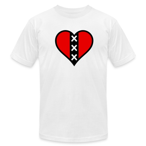 amsheart - Unisex Jersey T-Shirt by Bella + Canvas