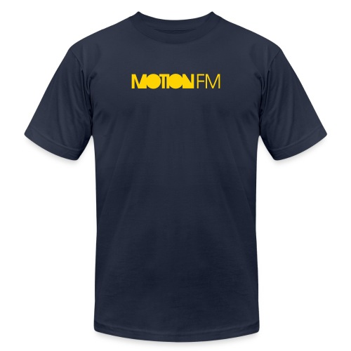 MotionFM Typo - Unisex Jersey T-Shirt by Bella + Canvas