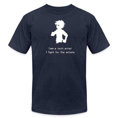 iamatechartist - Unisex Jersey T-Shirt by Bella + Canvas
