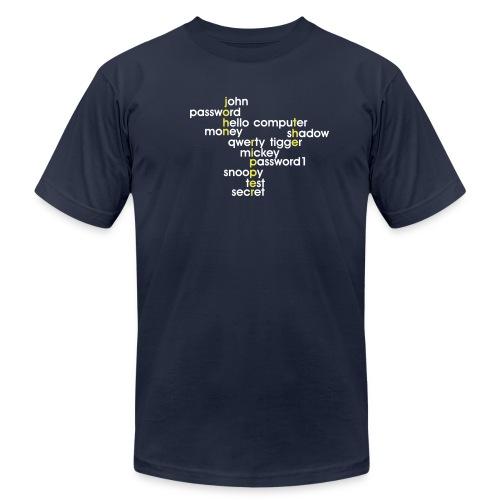 John The Ripper Crossword 3 - Unisex Jersey T-Shirt by Bella + Canvas