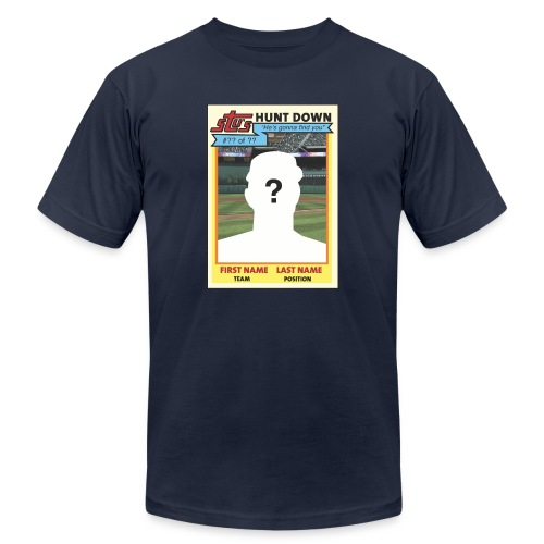 Stu's Huntdown - Unisex Jersey T-Shirt by Bella + Canvas