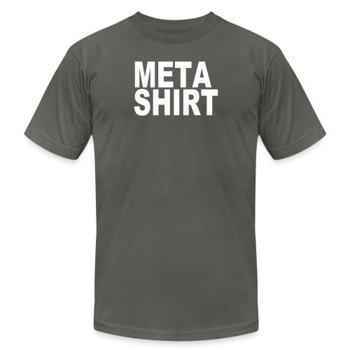 metashirt - Unisex Jersey T-Shirt by Bella + Canvas