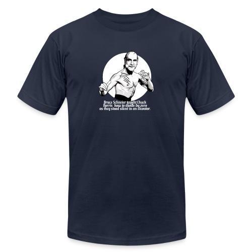 Bruce Schneier Fact #10b - Unisex Jersey T-Shirt by Bella + Canvas