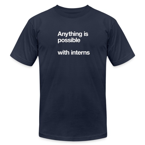 interns - Unisex Jersey T-Shirt by Bella + Canvas