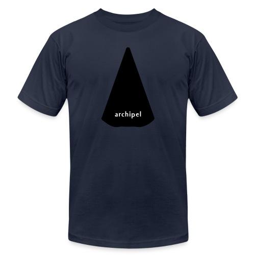 archipel_black on black - Unisex Jersey T-Shirt by Bella + Canvas