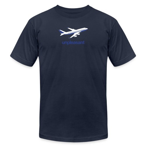 Unpleasant: Flying - Unisex Jersey T-Shirt by Bella + Canvas