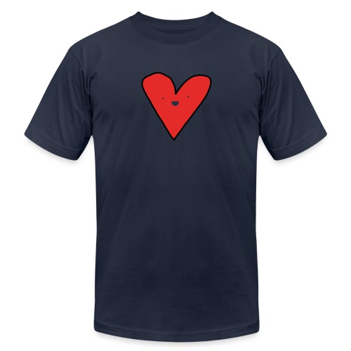 Heart - Unisex Jersey T-Shirt by Bella + Canvas