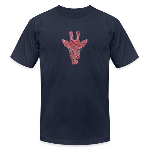 Giraffe Head - Unisex Jersey T-Shirt by Bella + Canvas