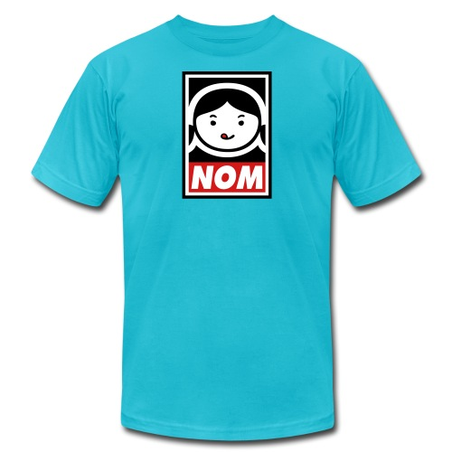 NOM - Unisex Jersey T-Shirt by Bella + Canvas