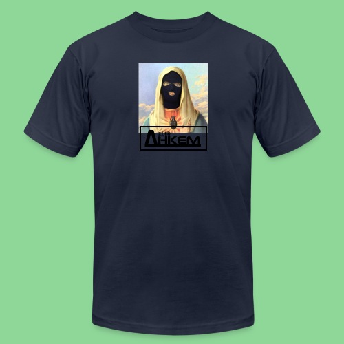 virginmary jpg - Unisex Jersey T-Shirt by Bella + Canvas