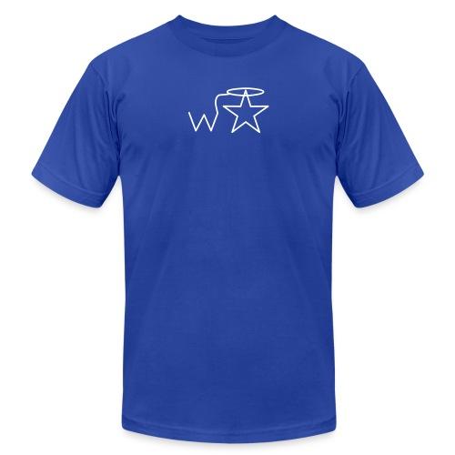 wstar vector - Unisex Jersey T-Shirt by Bella + Canvas