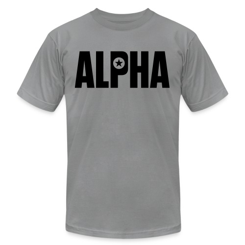 ALPHA - Unisex Jersey T-Shirt by Bella + Canvas