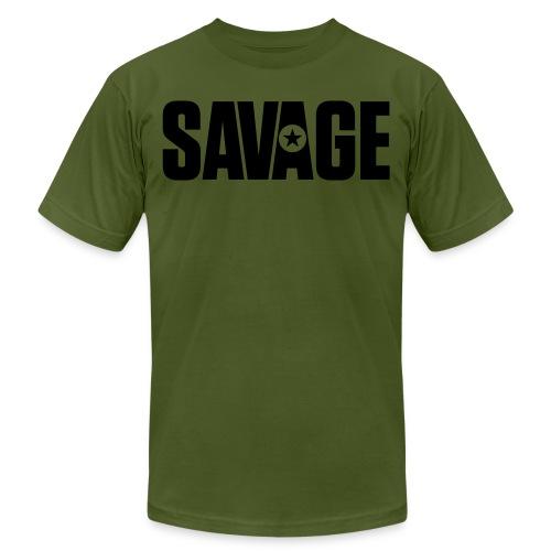 SAVAGE - Unisex Jersey T-Shirt by Bella + Canvas