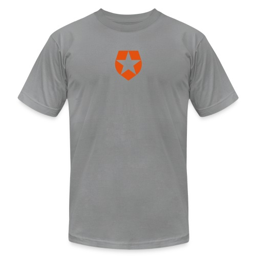 badge - Unisex Jersey T-Shirt by Bella + Canvas