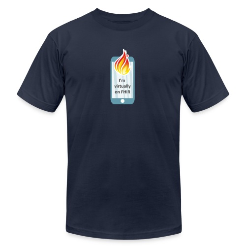 HL7 FHIR DevDays 2020 - Mobile - Unisex Jersey T-Shirt by Bella + Canvas