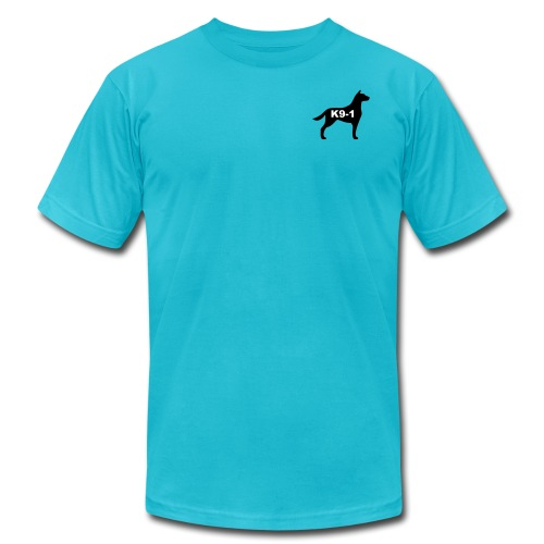 k9-1 Logo Large - Unisex Jersey T-Shirt by Bella + Canvas