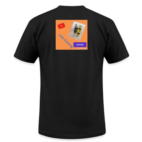Luke Gaming T-Shirt - Unisex Jersey T-Shirt by Bella + Canvas
