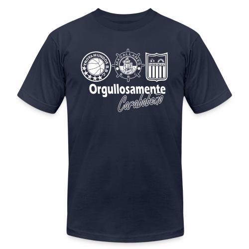 orgullosamente carabobeño - Men's Fine Jersey T-Shirt